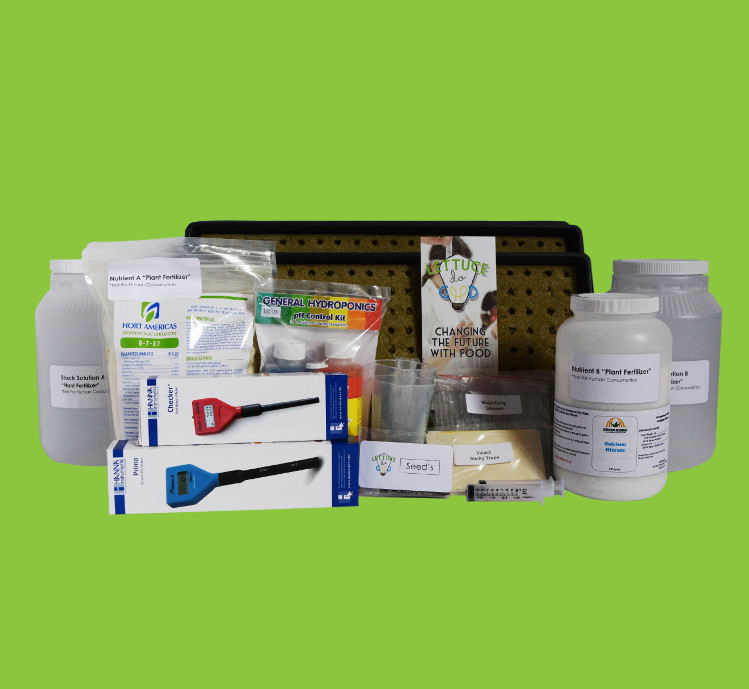 Hydroponic Garden Supply Kit